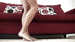 I found out about your secret fishnets fetish JOI