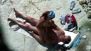Mature Beach Fun Play.avi