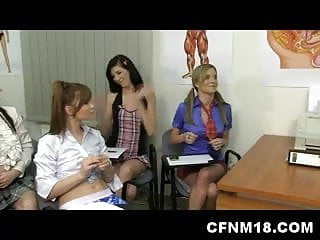 Stages of male penis development - Czech teacher teaching his class male penis anatomy