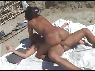 Gia Gets Two Cocks at the Beach