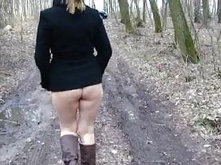 Spacerek po lesie