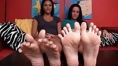 JOI and Foot from to sexy Girls