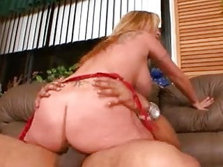 great blonde mature pussy gets fucked well by big black cock