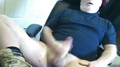 Silver daddy bear wank