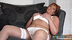 EuropeMaturE Beau Diamond Sexy Mature Solo Showoff's Thumb