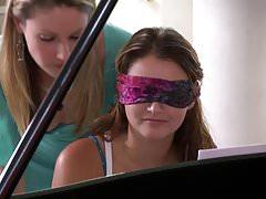 Samantha Ryan and Allie Haze at the Piano's Thumb