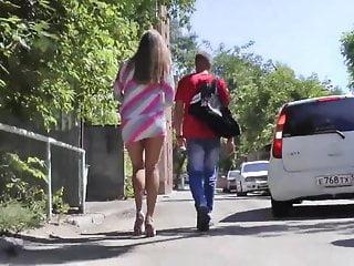 short dress ... ass and legs in order