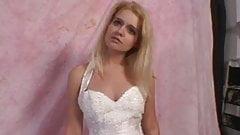 Morgan Lee Fucks Older Guy on her Wedding Day