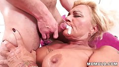 Allie big cock first her