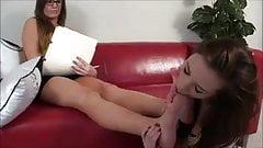 Lesbian Foot Worship 23
