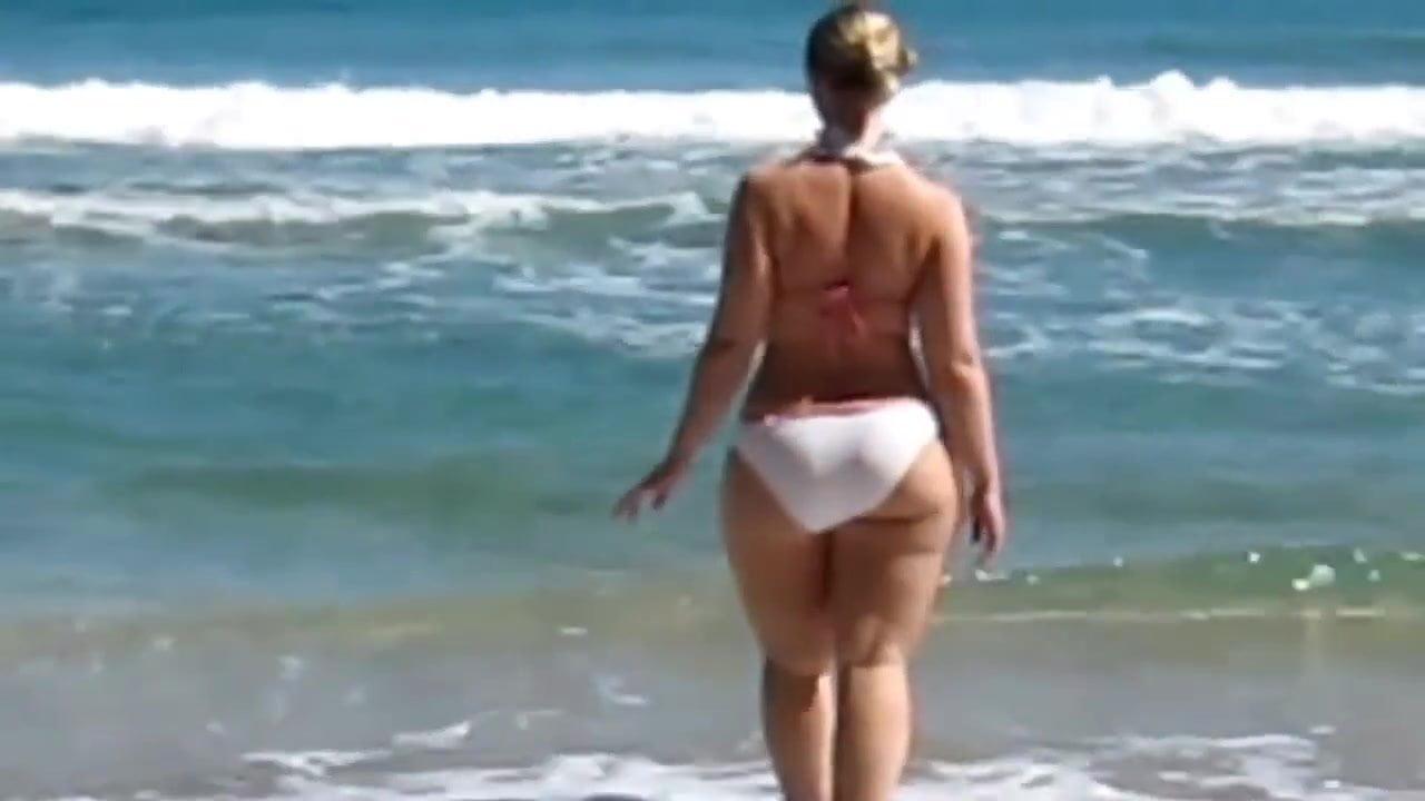 White bikini.