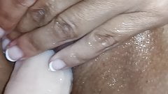 My wife enjoy herself after squirting