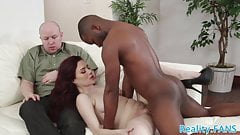 Cuckolding wife screwed by black cock 's Thumb