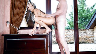 ExxxtraSmall - Stretching Petite Russian Brunch