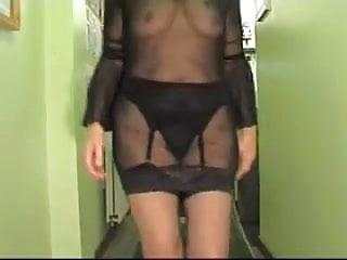 Mostrando el vestido