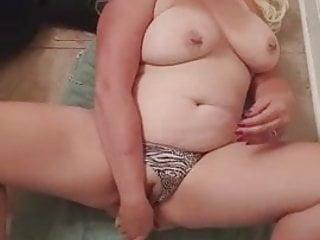 chubby white slut solo hard orgasim