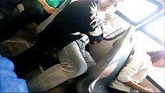 old bulge in bus