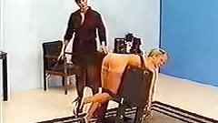Blonde Bondage and spanking