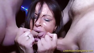 busty german Milf extreme banged's Thumb