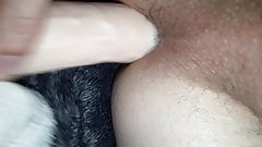 twink wanks and cums twice with surprise ending