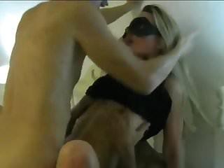 Frau liebt zwei Schwanze (wife dp)