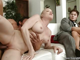 Preview 5 of Group Swinger Party Husbands And Wives Sharing