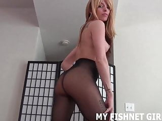 I know all about your little fishnet fetish JOI