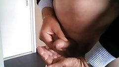 I play with my cock