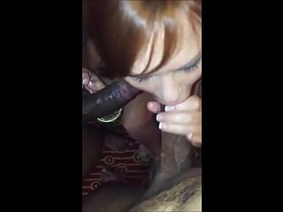 husband films while his mature wife is used