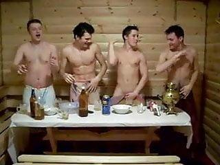 Nackte jungs in der sauna