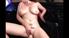 Fuck machine and squirting