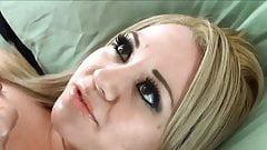 beautiful blonde facial 19