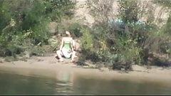 pillados en el  laguito