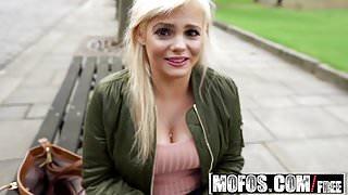 Mofos - Public Pick Ups - UK Hottie Haggles with Pervert sta