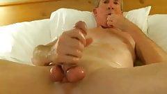 Big dicked dad wanking 029