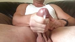 Up close & personal with my cock n balls