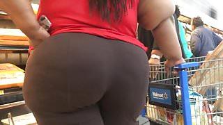 Huge Wobbly BBW Ass