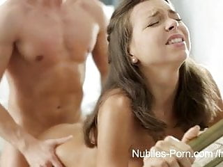 Nubiles Porn - Fucked pussy dripping with jizz