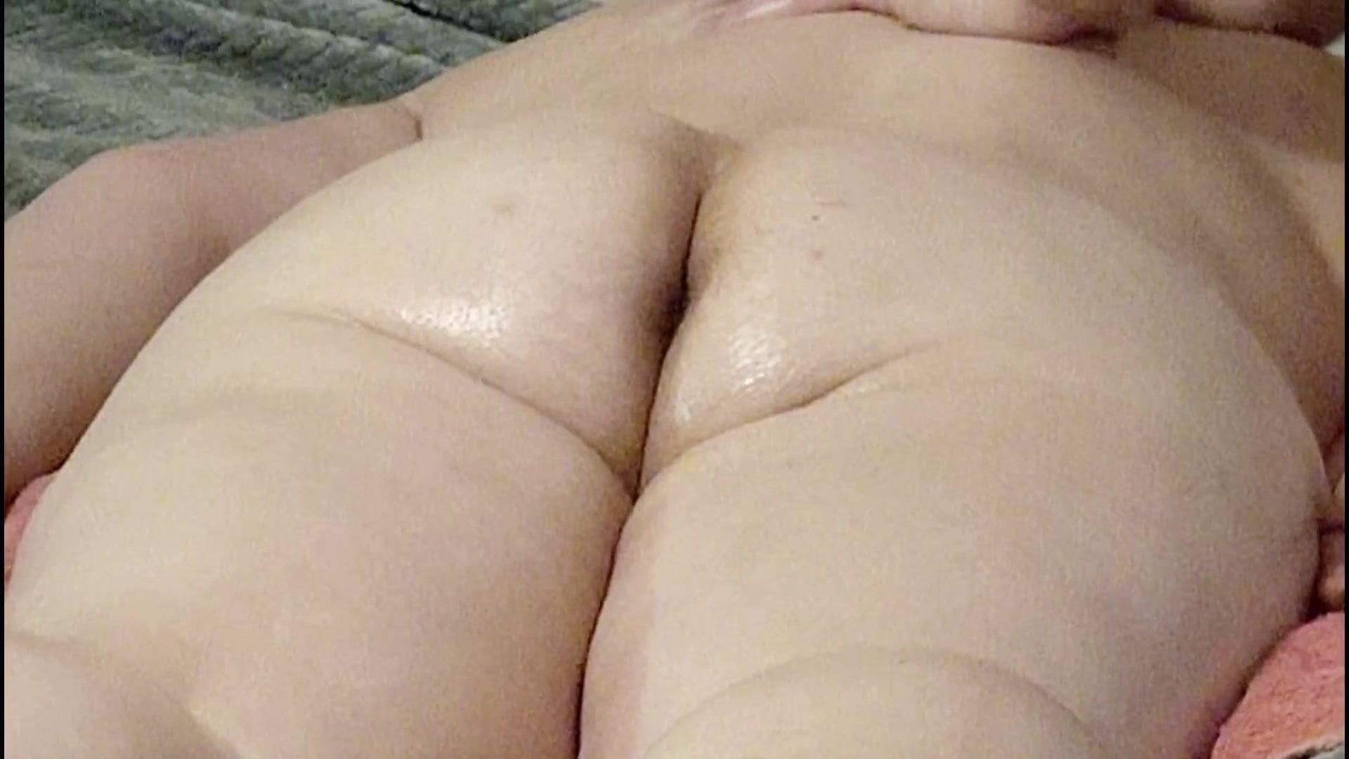 PAWG Candy Thick Bushy Ass Rubdown