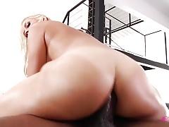 Sarah Vandella conquered by black dick