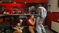 MAVIS: German mature in slippery gangbang orgy