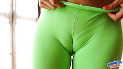 Perfect Ass Teen in Tight Leggins! + Cameltoe! See-Through!