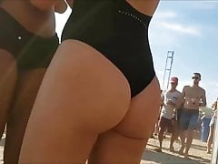 Spy and Voyeur Beach club hot girl suit sexy