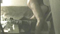 GF anal dildo fucking