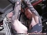 Tattooed and pierced punk rock sluts suckings and fucking
