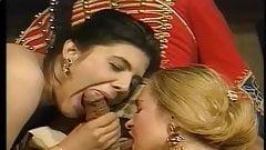 Blonde & Brunette - Ballroom Threesome