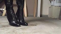 Stepping on cum 2