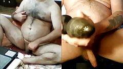 Horny on webcam.