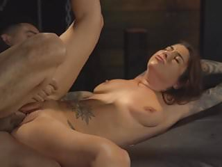 Preview 4 of Sexy Babe Getting Hard Fucked While Tied Up