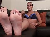 Sexy Sasha feet joi